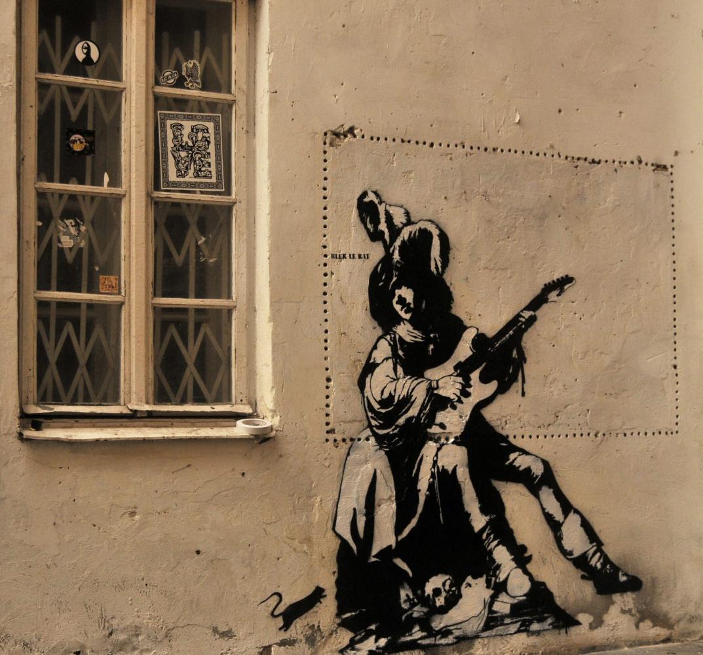Black Le Rat. Musician