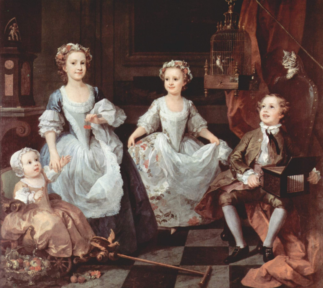 William Hogarth. The children of the family of Graham