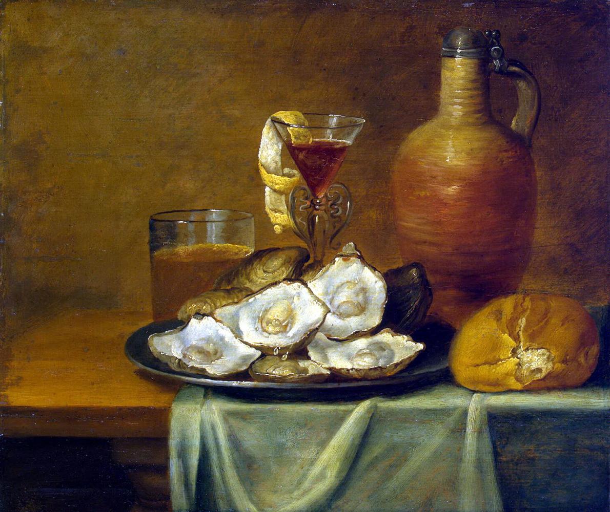 Якоб Флоппенс ван Эс. Завтрак с устрицами