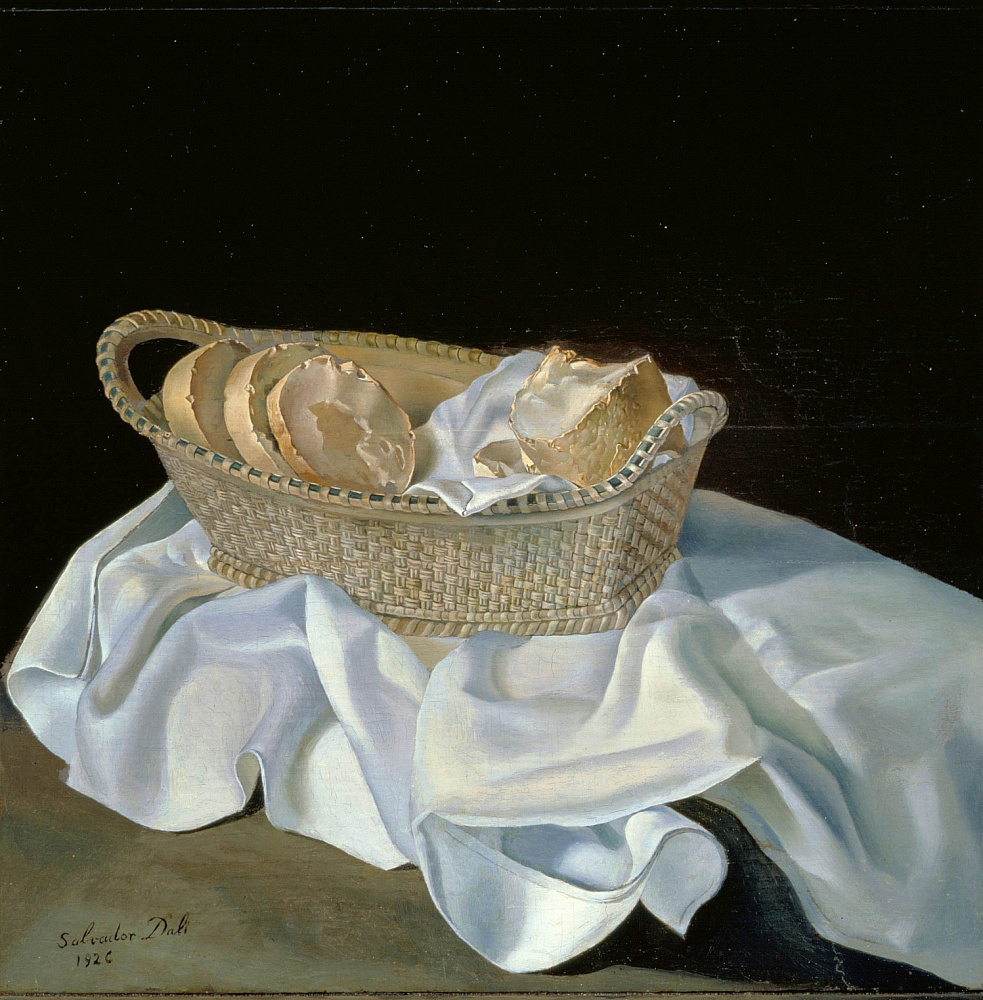 Сальвадор Дали. Корзина с хлебом