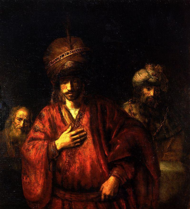 Рембрандт Харменс ван Рейн. Агарь в немилости