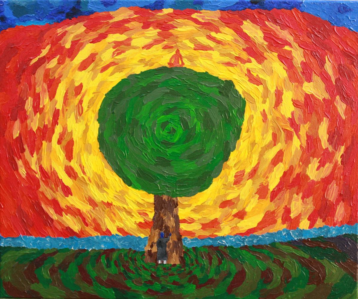 Max Yakushenok. Tree of visions