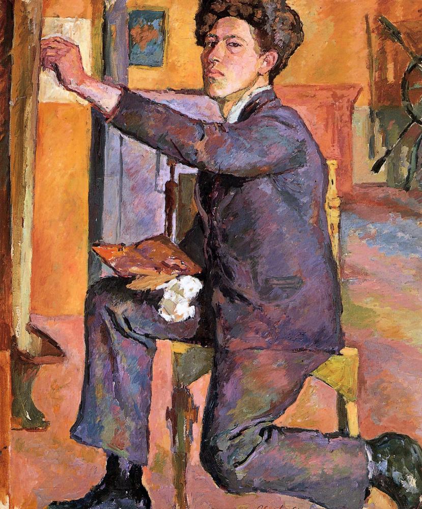 Alberto Giacometti. Self-portrait