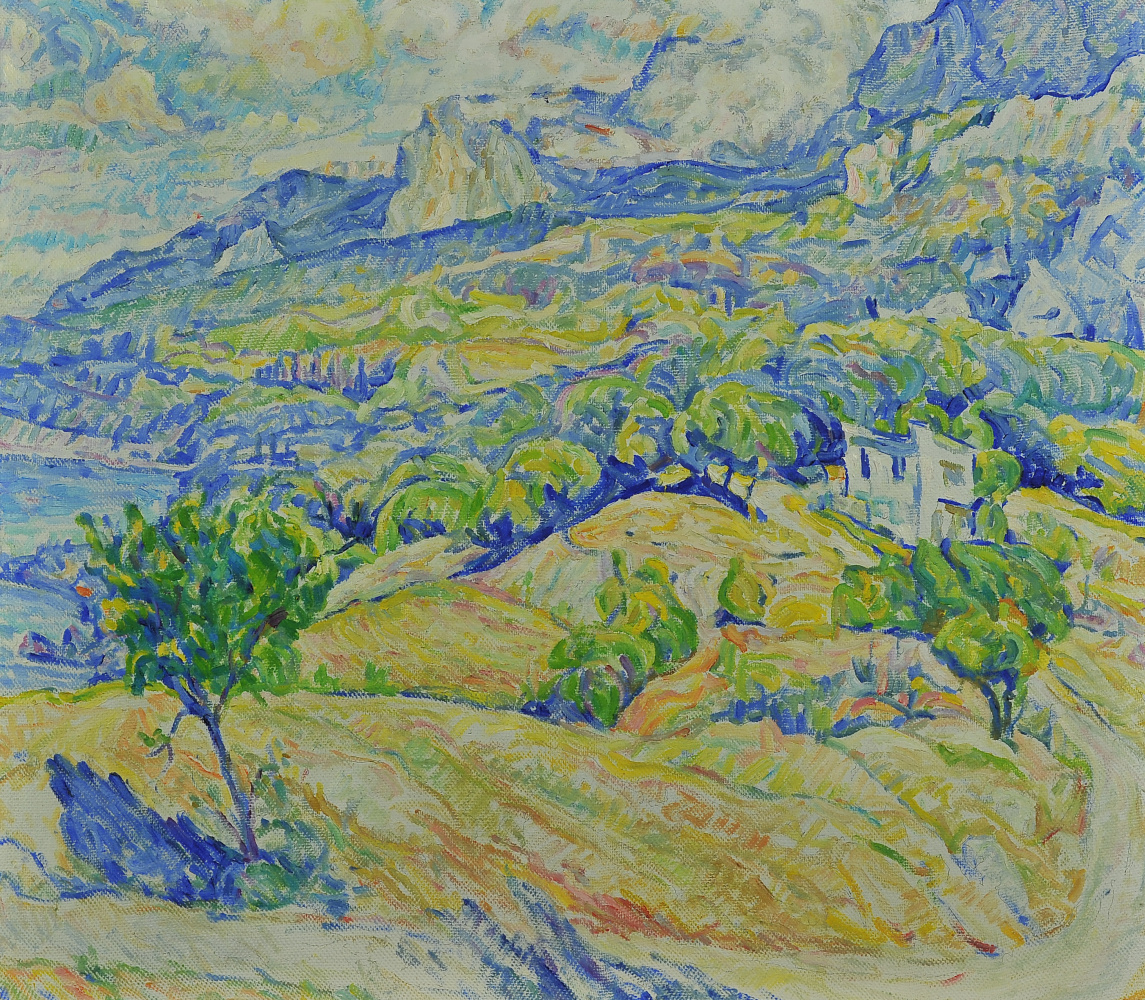 Валерий Иванович Ярош. Crimean landscape