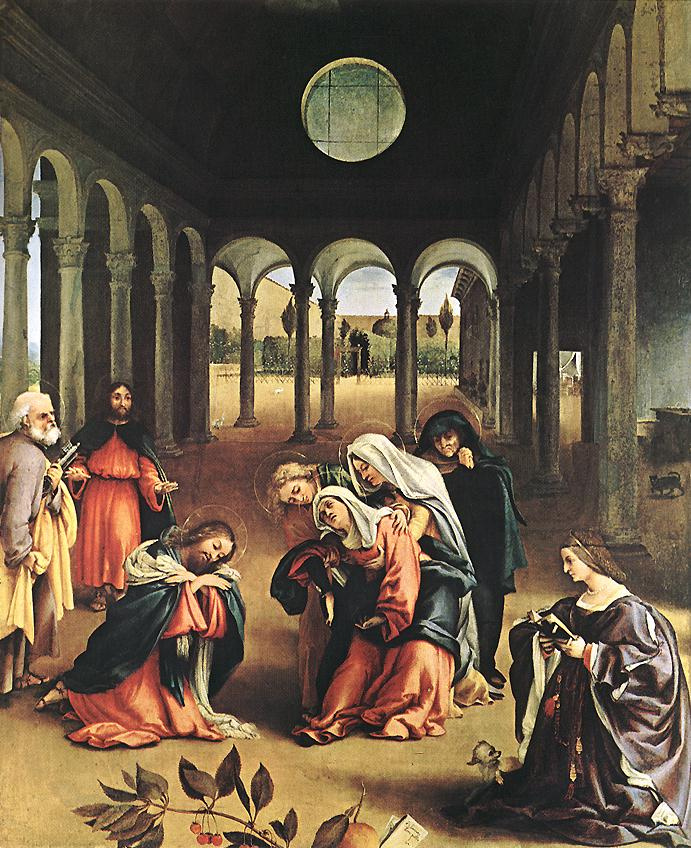 Lorenzo Lotto. Saints