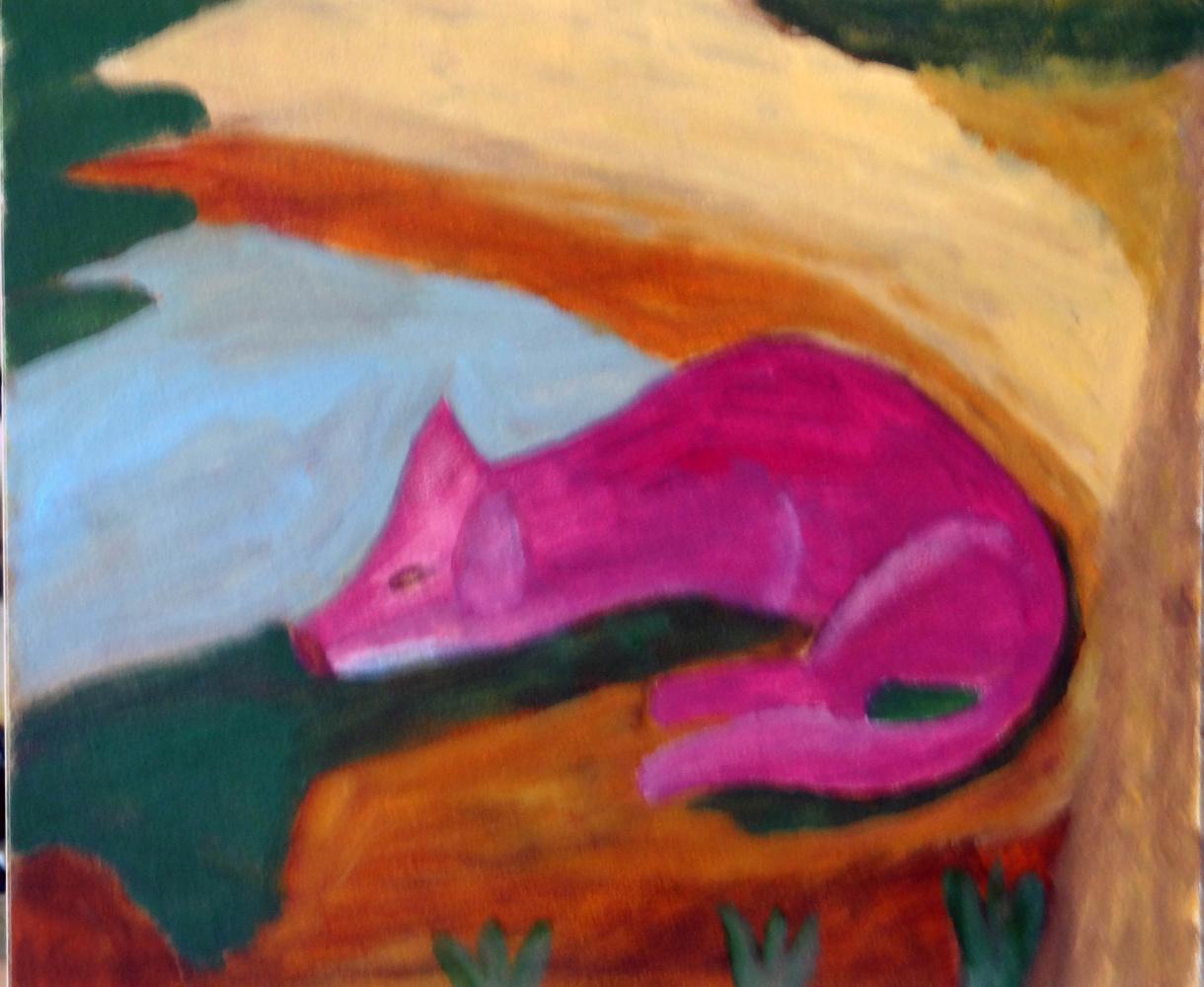 Алиса Михалева. Красная лиса