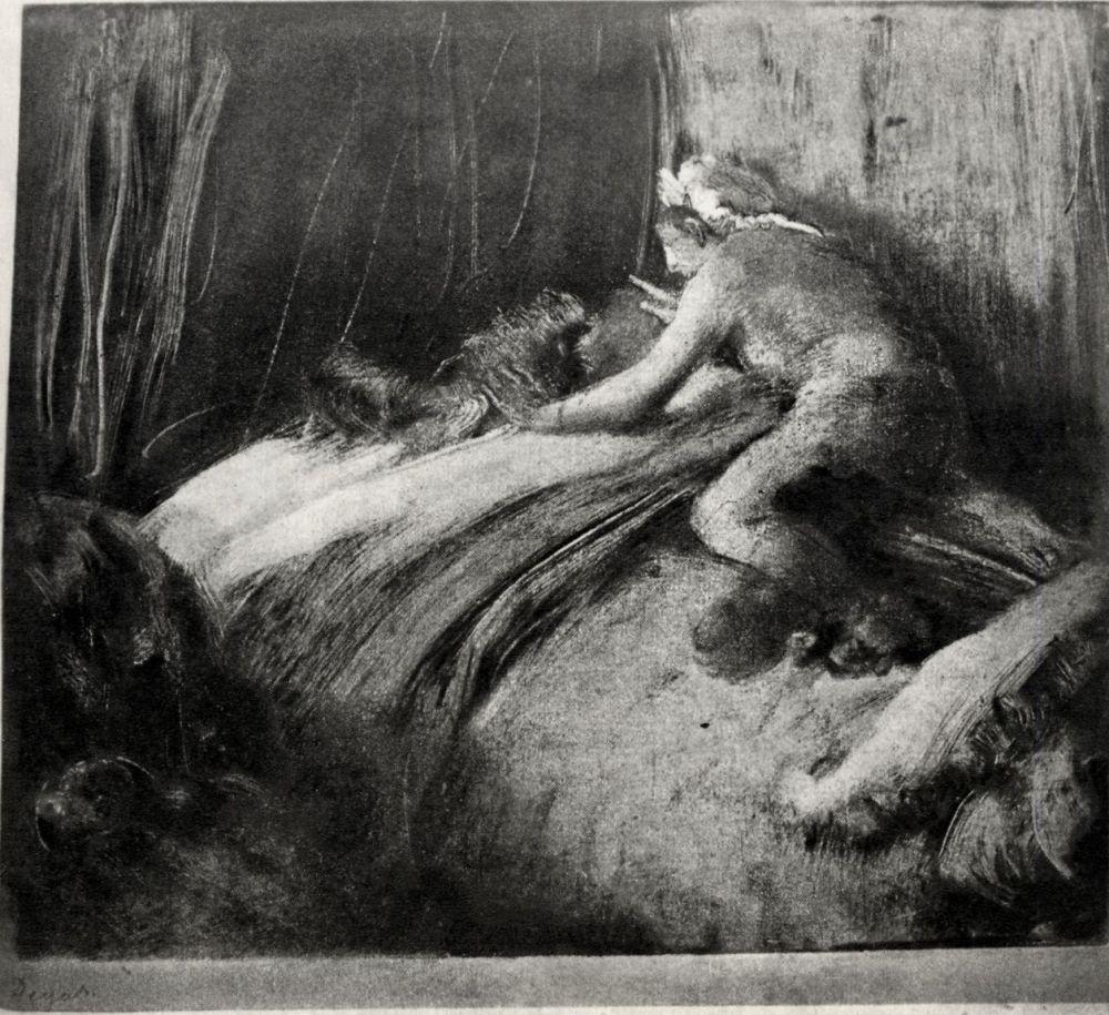 Эдгар Дега. Сон