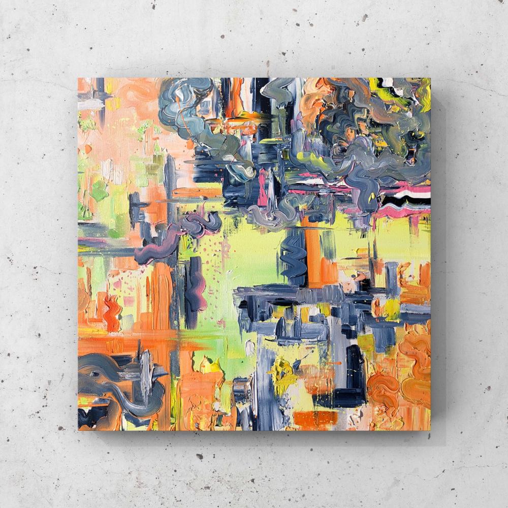 Hromys art. The rhythms of the city
