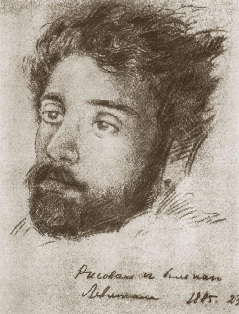 Nikolai Pavlovich Chekhov. Portrait of a patient Levitan