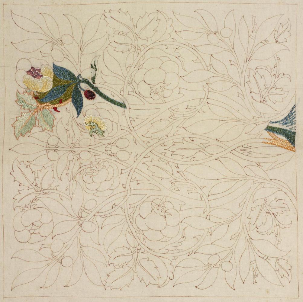 Уильям Моррис. Цветочный эскиз