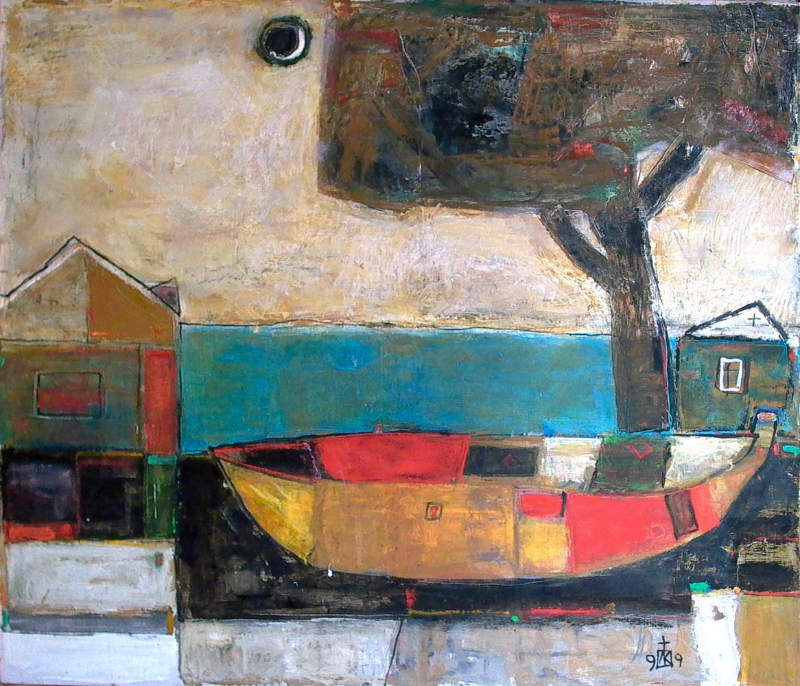 "Igor Vasilyevich Kislitsyn. ""Boat Tree"" from the series TERRITORY"