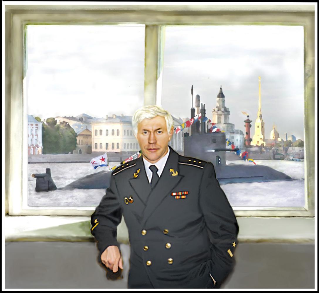 Svetlana Fedorovna Gurevich. Portrait of a Comrade Senior Warrant Officer