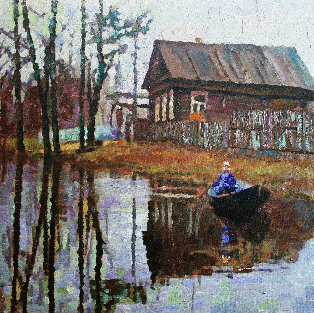 Михаил Рудник. April in the village