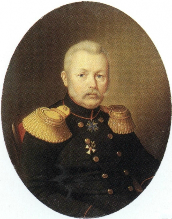Sergey Konstantinovich Zaryanka. Portrait of SS Mazaraki