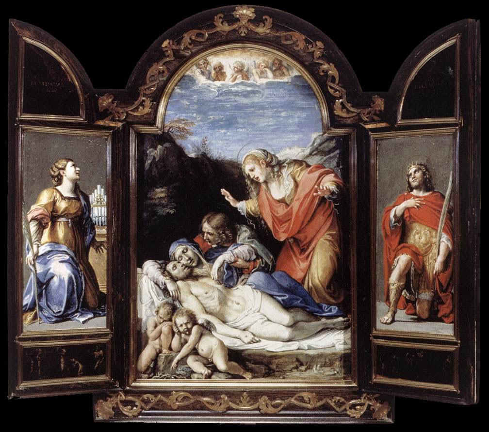 Annibale Carracci. Триптих1