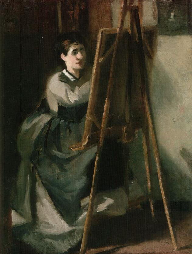 Eva Gonzalez. Young student