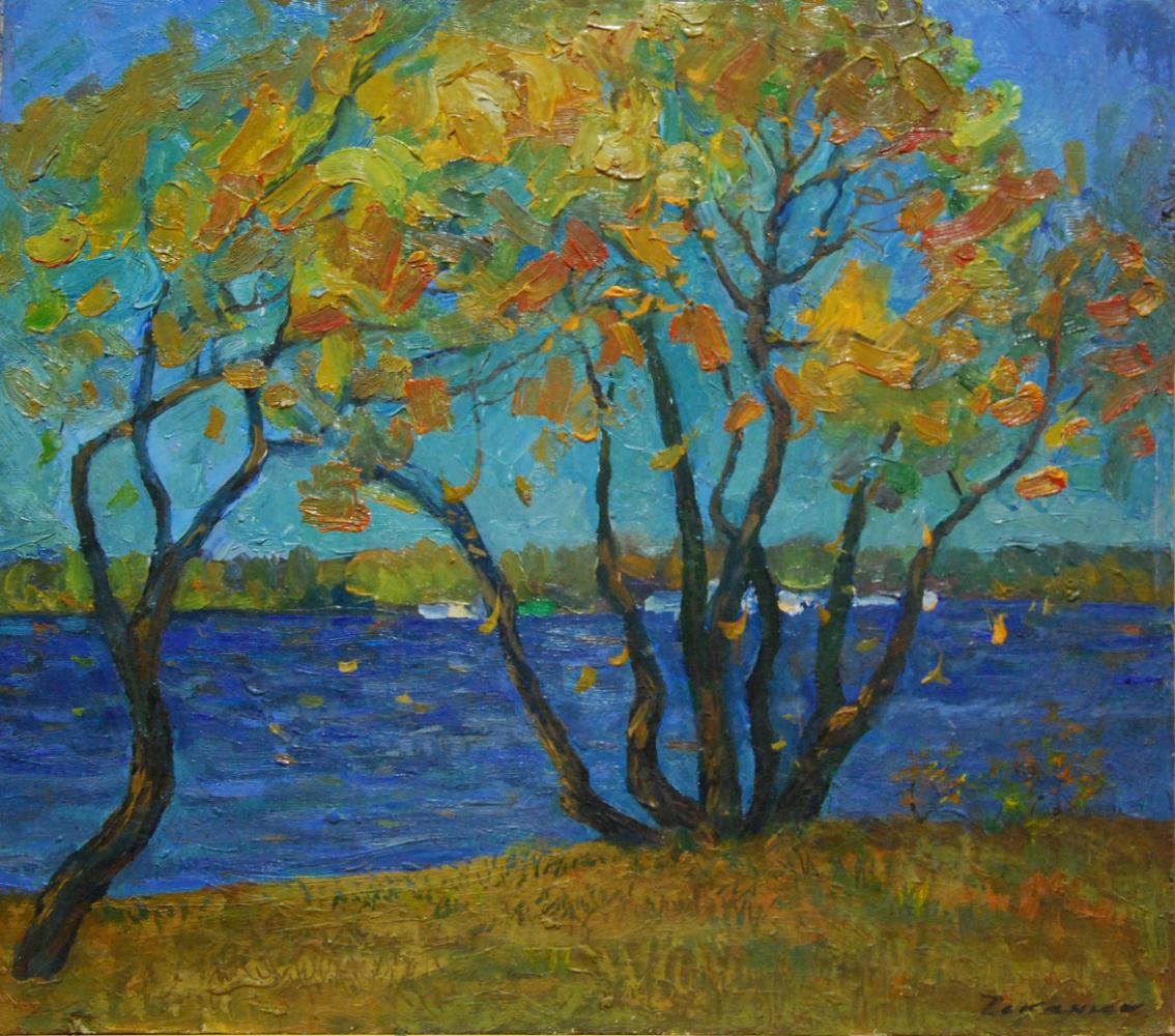 Vilen Andreevich Chekanyuk. Autumn on the Dnieper