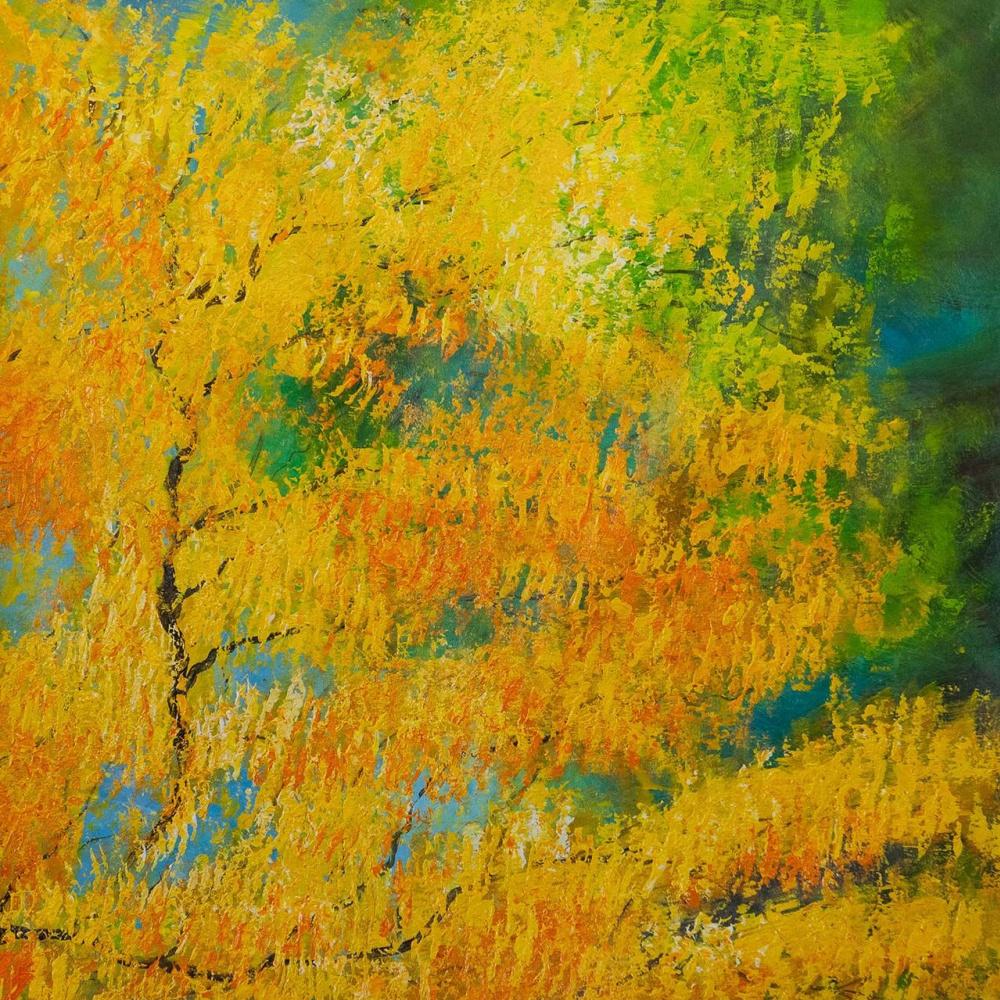 Daniel Wenger. Golden autumn. DW version