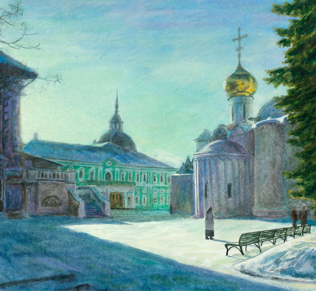Виктор Михайлович Бородин. Bright day