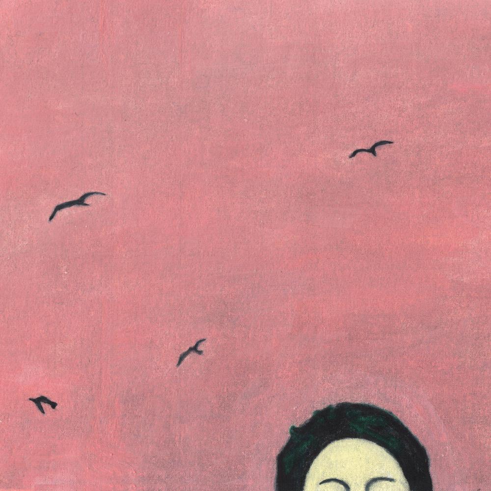 Nickie Zimov. A homage to chema madoz