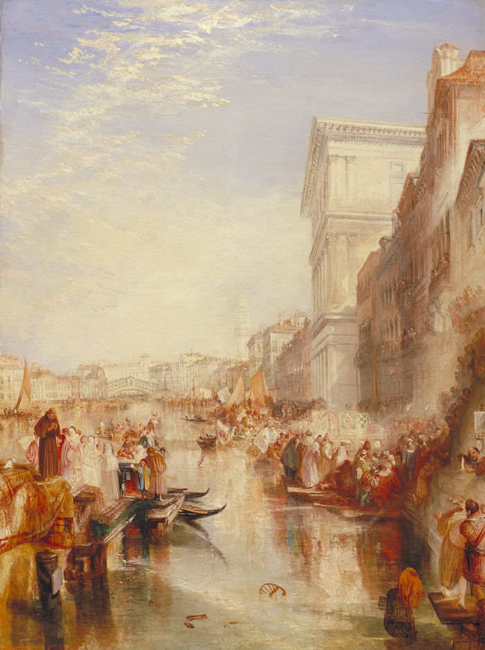 Joseph Mallord William Turner. The Grand Canal (a Street scene in Venice)
