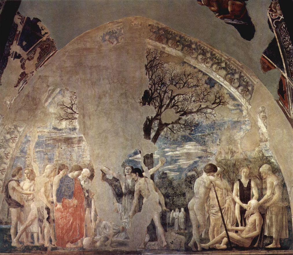 Пьеро делла Франческа. Смерть и погребение Адама