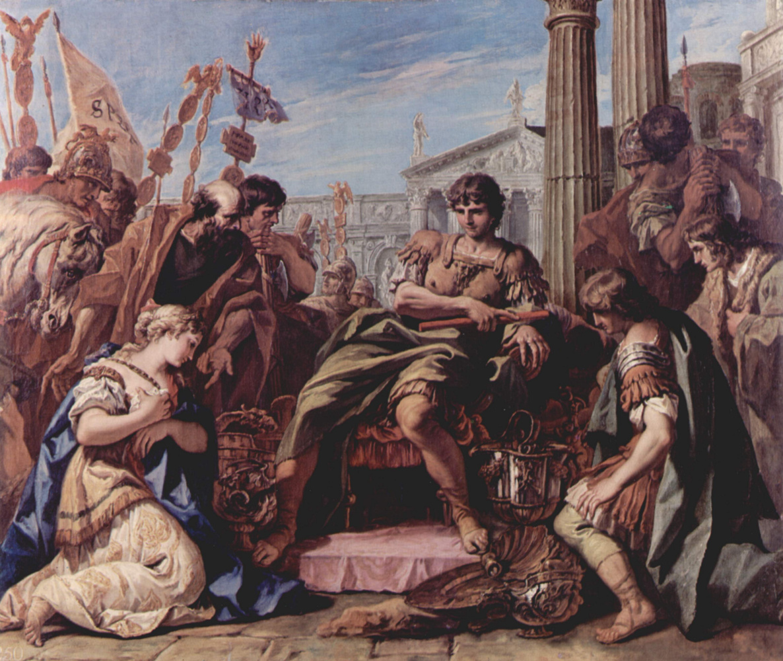 Sebastiano Ricci. The Composure Of Scipio