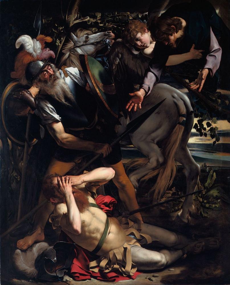 Michelangelo Merisi de Caravaggio. The Conversion of Saint Paul