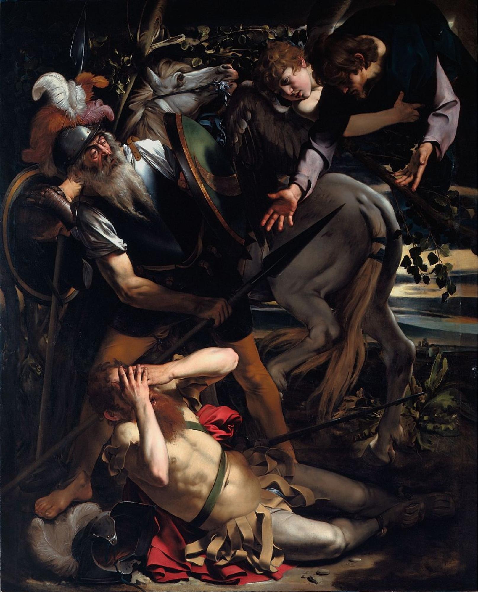 Микеланджело Меризи де Караваджо. Преображение Святого Павла