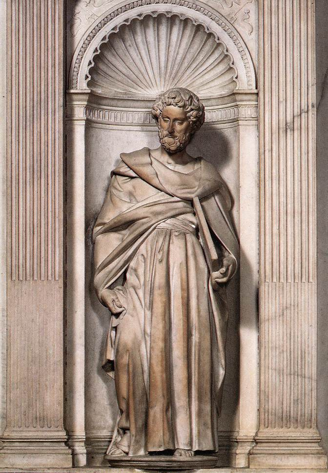 Микеланджело Буонарроти. Святой Петр