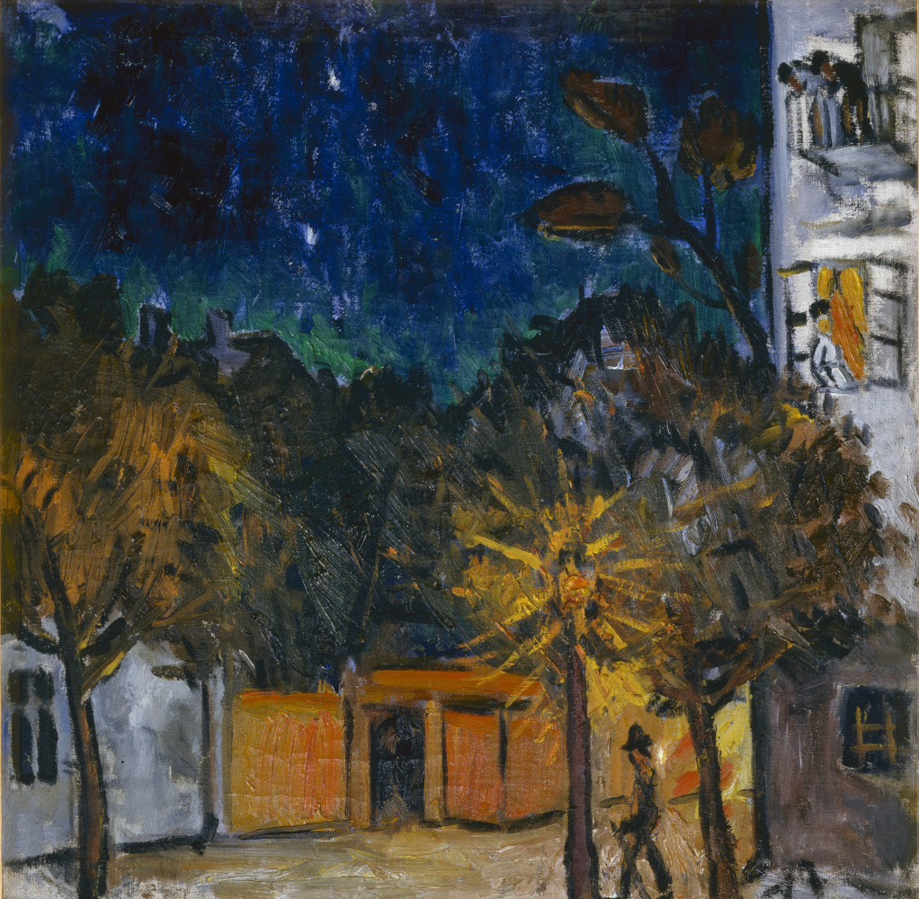 Mikhail Larionov. Night, Tiraspol