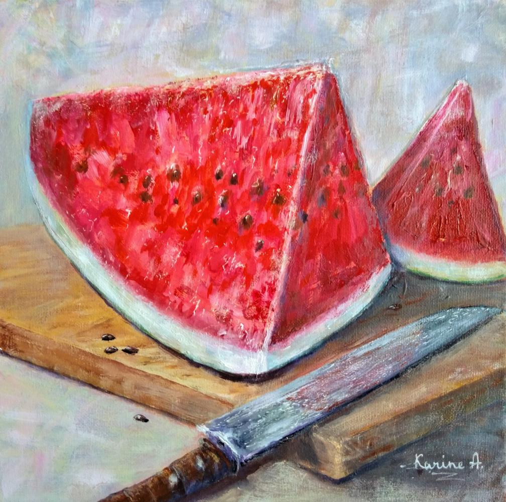 Karine Andriasyan. Juicy Watermelon
