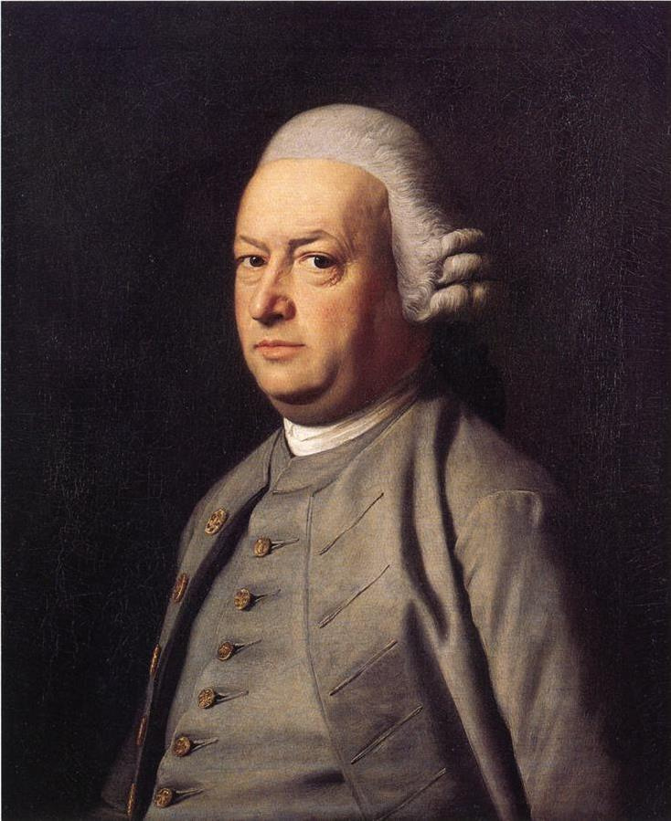 John Singleton Copley. Portrait Of Thomas Flaker