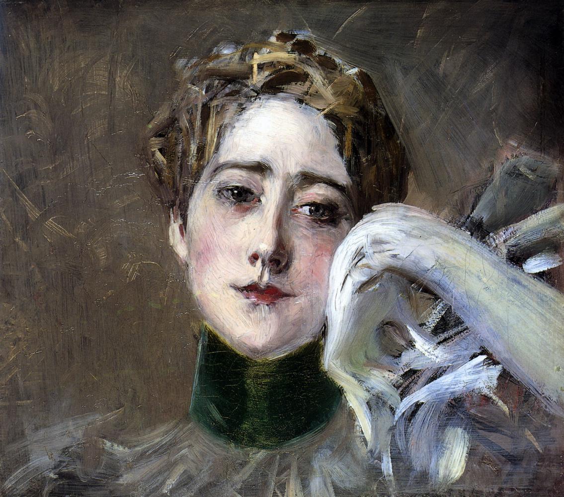 Giovanni Boldini. Portrait of Princess Diezenburg-Bernstein