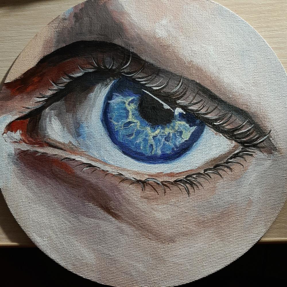 Tatiana Alexandrovna Rupasova. All-seeing eye