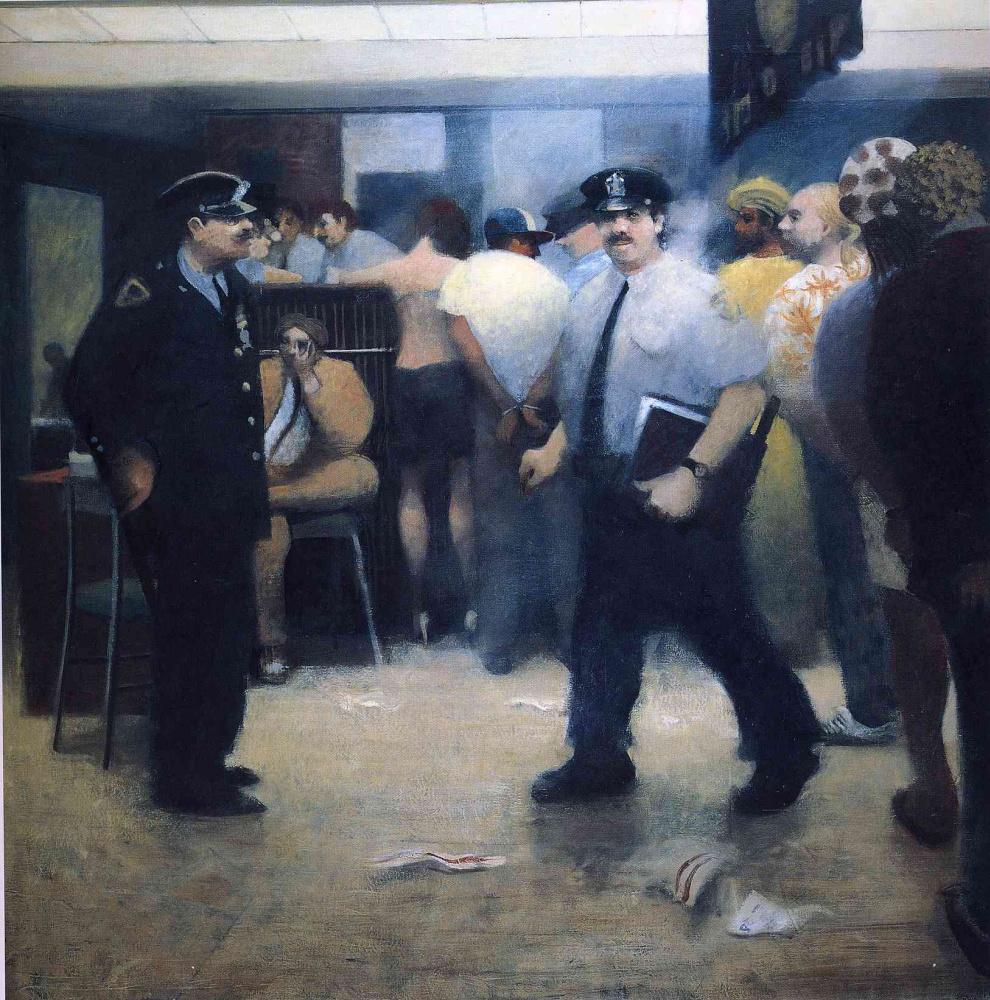 Билл Жаклин. Полиция