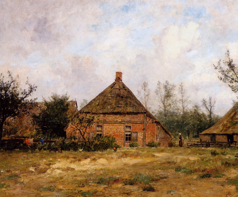 Альфонс Стенгелин. Вид на ферму