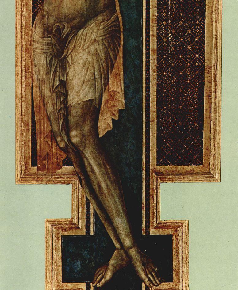 Ченни ди Пепо Чимабуэ. Распятие из Санта Кроче во Флоренции