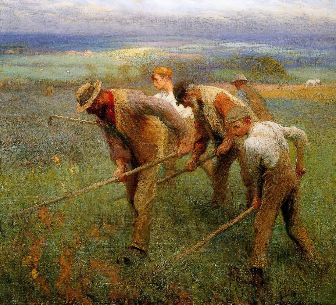 George Clausen. The sons of earth