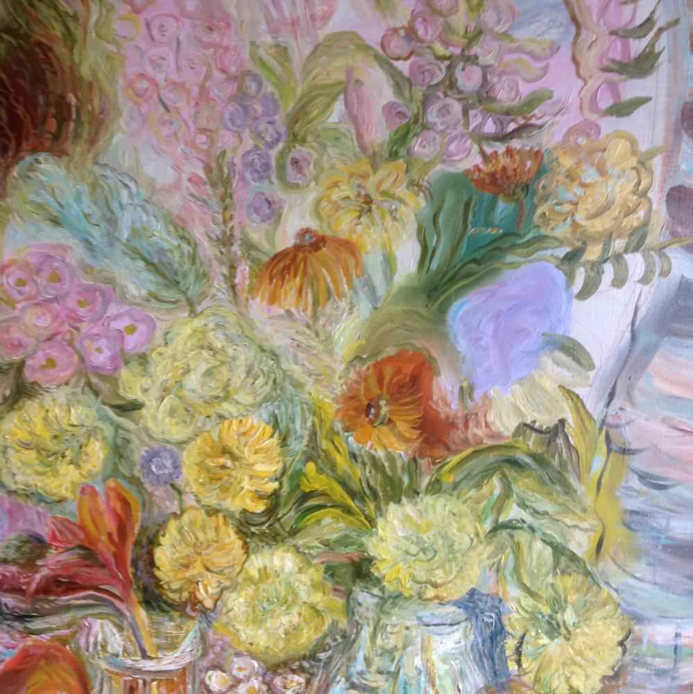 Agnessa Morkovina. Two bouquets