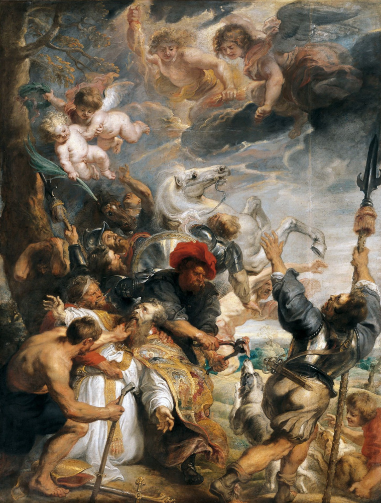 Питер Пауль Рубенс. Мученичество святого Ливинуса