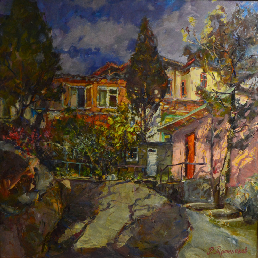 Roman Tretyakov. Street in Gurzuf
