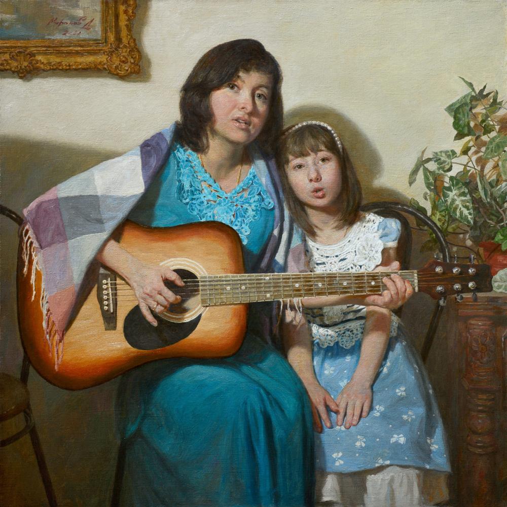 Andrey Nikolaevich Mironov. Семейный портрет. Дочки-матери