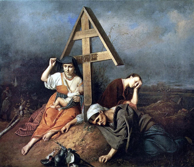Василий Григорьевич Перов. Сцена на могиле
