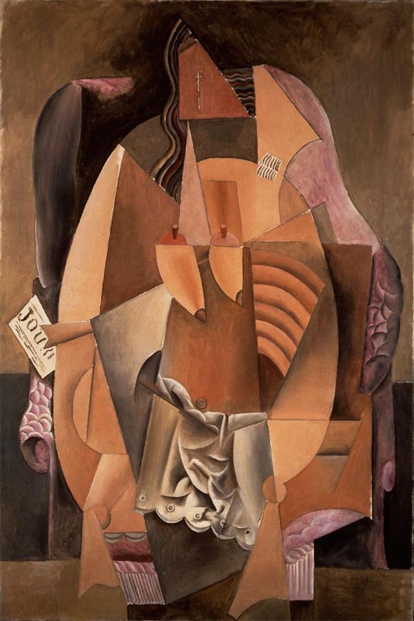 Пабло Пикассо. Женщина в сорочке, сидящая в кресле (Ева)