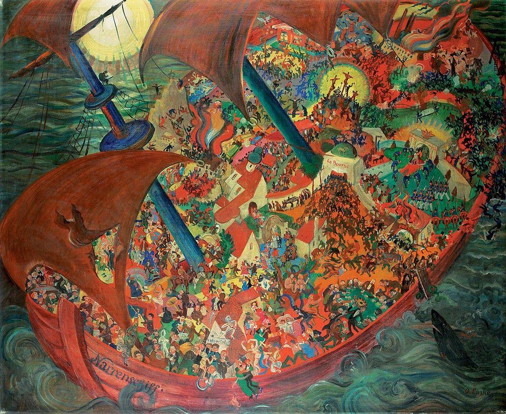 Oscar Laske. Ship of fools