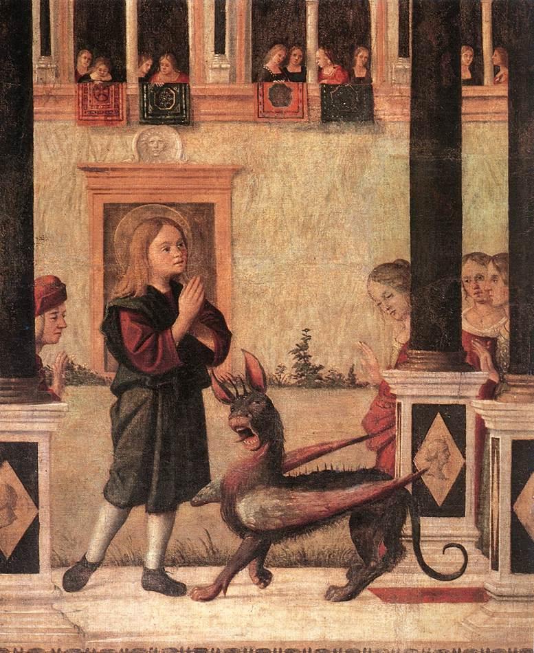 Витторе Карпаччо. Дочь императора Гордиана
