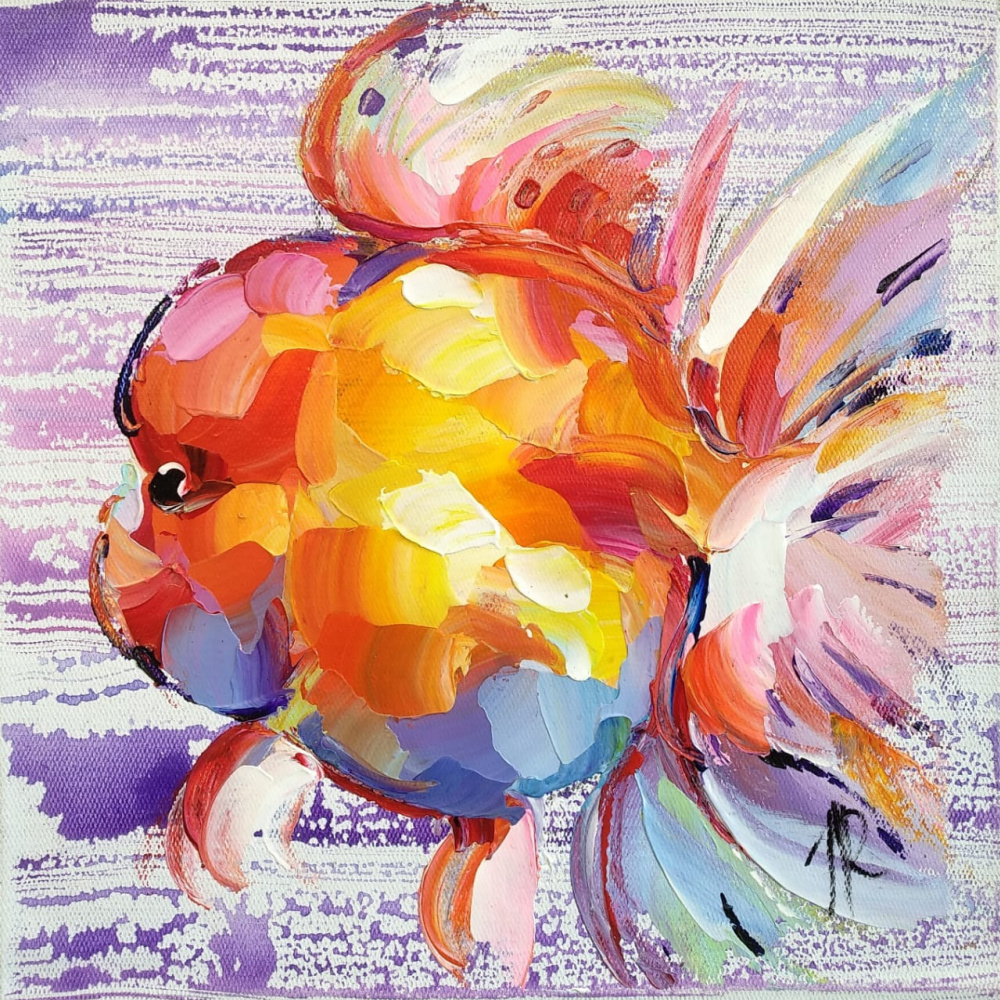 Jose Rodriguez. Goldfish Oranda N3