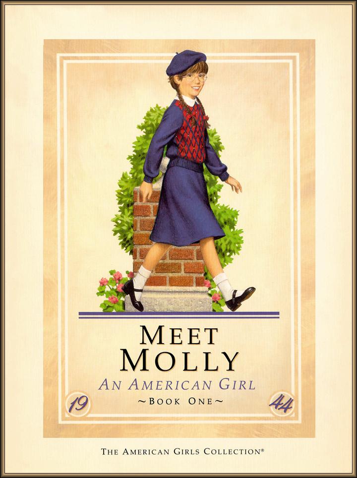 Ник Баскет. Американская девочка Молли. Первая книга о Молли  01