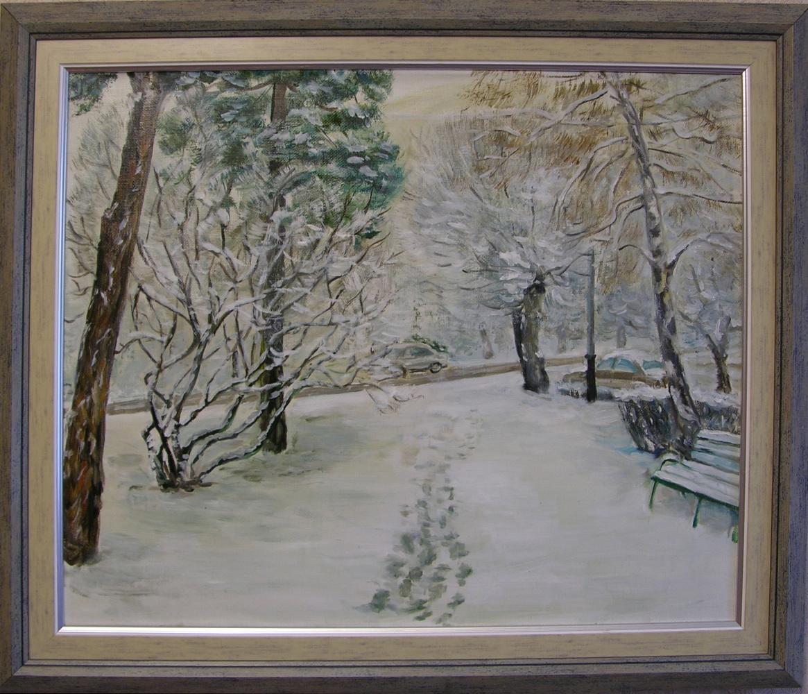 Natalia Selivanova. The first snow